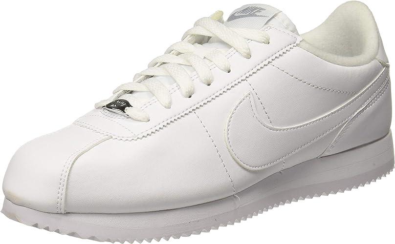 Nike Men's Cortez Basic Leather chaussures, Chaussures de Trail Homme