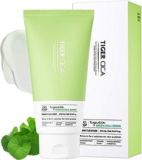 It'S SKIN TIGER CICA Calming Cleanser 150ml 5.07 fl. oz. - Face Wash Facial Cleanser Scrub Foaming For Women Men Exfoliati...