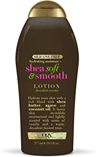 OGX Hydrating Moisture + Shea Soft & Smooth Body Lotion, 19.5 Ounces
