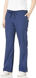 Landau womens Women's Fl;are Leg Drawstring Cargo Scrub Pant Medical Scrubs Pants (pack of 1)