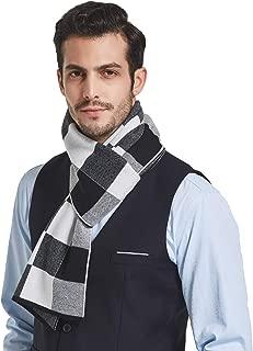 Taylormia Mens Winter Cashmere Feel Australian Merino Wool Scarves Warm Soft Knit Scarf