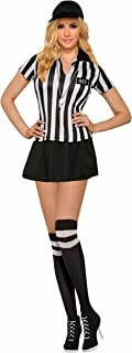 Forum Women's Sexy Referee Costume with Matching Knee Highs