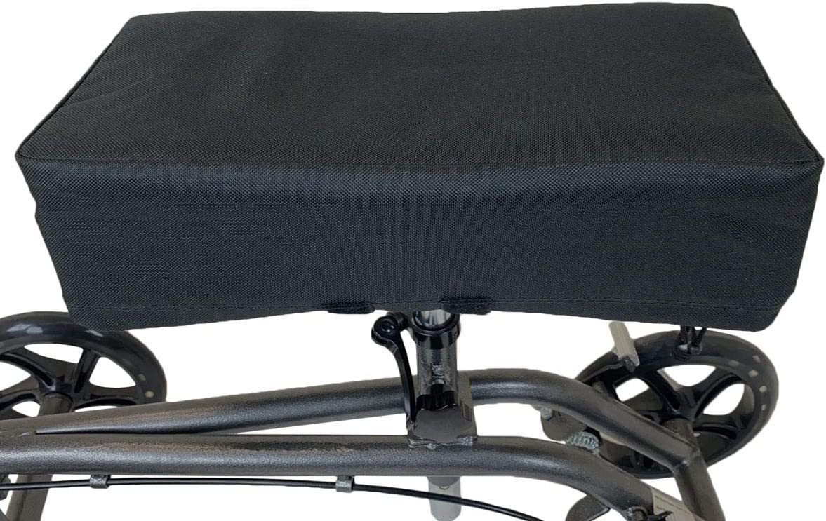 AllCure Knee Walker Memory Max 47% OFF Foam Cover Seat Black Pad Financial sales sale