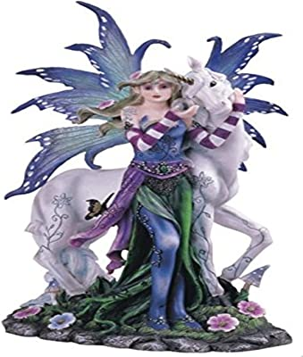 StealStreet SS-G-91404 Green Tree Fairy Standing Collectible Figurine Decoration Statue Decor