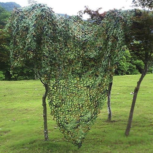 Filet de Camouflage Oxford Filet de Prougeection de Camouflage pour La Prougeection de La Végétation du Jardin Tissu Oxford Tissu de Différentes Tailles Vert pour Les Jardins d'ombre extérieurs