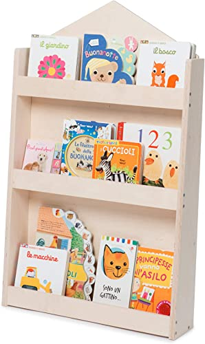WERBUNG – Dotty, Kinder Bücherregal aus Naturholz