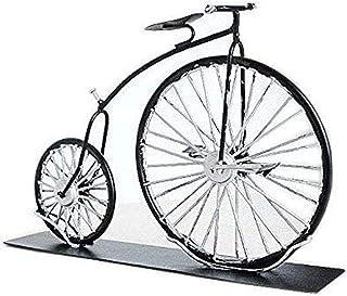 Fancinate Vintage Handmade 1870 High Wheeler Penny Farthing Bicycle Metal Ornaments Desk Crafts Ironwork Bike Figurines St...
