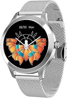 ZQD Reloj Inteligente Mujer Smartwatch IP68 con Presión Arterial Recordatorio Menstrual Pulsómetro Monitor de Sueño Notifi...
