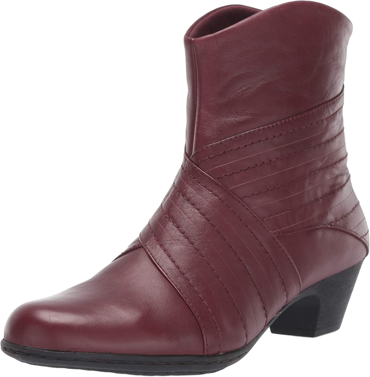 Rockport Women's Faline Rouched Bootie Ankle Boot,