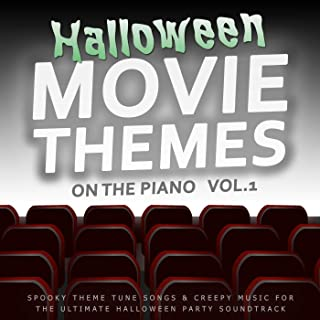 Halloween Movie Themes on the Piano, Vol. 1