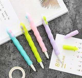 Royare of School Supplies 2Pcs/Set Pea Pods Gel Pen Kit Creative Signing Pen Student Stationery Award (Random Color)