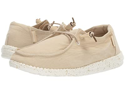 Hey Dude Wendy Washed (Beige) Women
