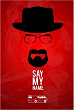 Rawpockets ' Say My Name Red' Wall Poster(Paper Board,33 x 48 cm)