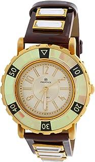 Phoenix Wrist Watch For Unisex Analog Leather, P11148M