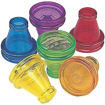 Fun Express Transparent Prism Kaleidoscope Toys (Bulk Set of 12) Party Favors