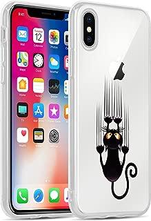 iPhone X 素描 Scratching Cat
