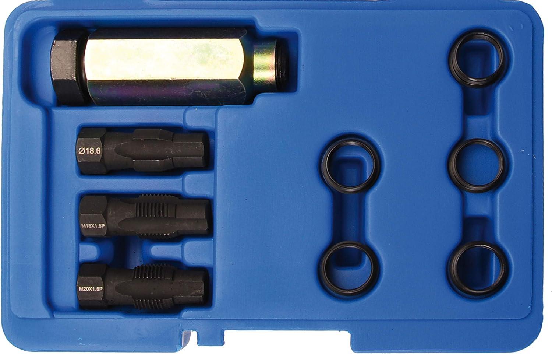 BGS 66215-1 Kit de r/éparation de douille filet/ée de rechange pour sonde Lambda M18 x 1,5 mm
