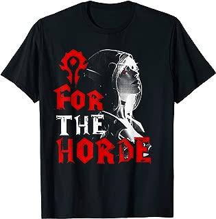 For The Horde Sylvanas Windrunner WOW T-shirt