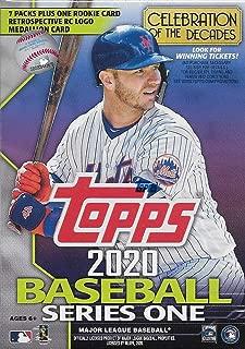 2020 Topps Series 1 Baseball Trading Cards Retail Blaster Box