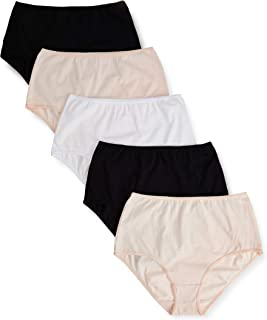 Marca Amazon - Iris & Lilly Waist Slip Mujer, Pack de 5