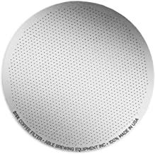 NEW ABLE FINE DISK FILTER Resuable Compatible For Aeropress Dripper Coffee Cup Pour Over