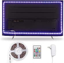Hamlite TV LED Backlight for 82 85 90 95 Inch TV Bias Lighting, 21ft LED Light Strip for..