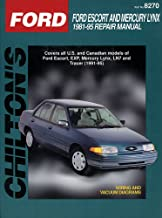 Ford: Escort/Lynx 1981-95 (Chilton's Total Car Care Repair Manual)
