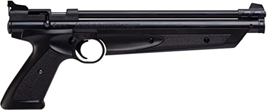 Crosman American Classic Multi Pump Pneumatic Pellet Air Pistol, Black