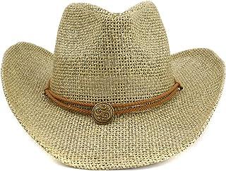 رعاة البقر قبعة إمرأة قبعة الشمس الإناث خمر السيدات سترو هات الغربية راعية البقر المرأة قبعة الصيف