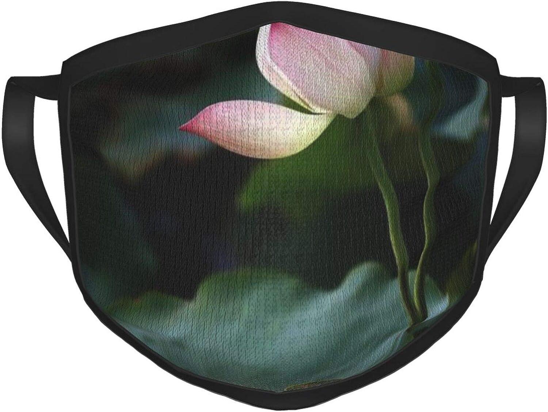 LANJYF 2 Packs Dust Mouth Wear, Lotus Unisex Facial Covering