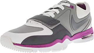 Nike 耐克 Air Max Trainer One Sl Womens Gray Leather Athletic Skate Shoes 7.5