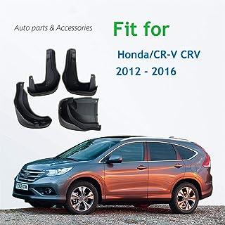 arrière SET Pour Honda CRV CR-V IV 4 2012-4x Bavettes spritzlappen avant