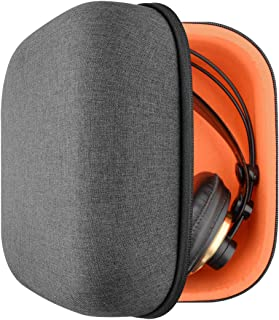 AKG K240, K242, K271, K272, K141, K142, K121 ヘッドホンキャリングケース/バッグ、ケーブル、 AMP、部品および付属品を収容する余地がある/Headphone Full Size Hard Carrying Case