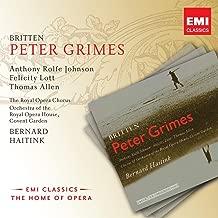 Peter Grimes Op. 33, ACT 1 Scene 1: Oh Hang At Pen Doors The Net (Chorus/1st Fisherman/Auntie/Boles/Balstrode/2nd Fisherman/Rector/Nieces/Mrs Sedley/Swallow)