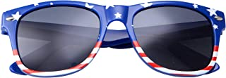 Sponsored Ad - grinderPUNCH Kids American USA Flag Sunglasses for Boys and Girls Ages 3-10