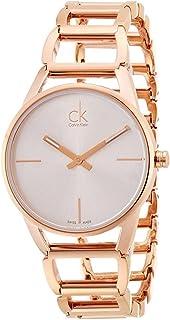 Calvin Klein Stately Watch - K3G23626 Silver/Rose Gold One Size