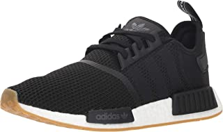 adidas Originals Men's NMD_R1 Running Shoe,  Black/Gum,  9.5 M US