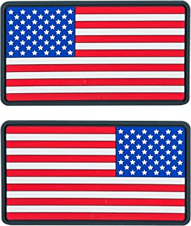 Helikon-Tex USA Large PVC Flag Patches (Set of 2) True Colors