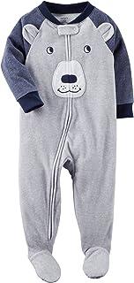 Macacão Carter's Fleece Urso Azul