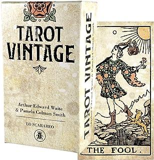 タロットカード 78枚 ウェイト版 タロット占い 【 タロット ビンテージ Tarot Vintage 】日本語解説書付き [正規品]