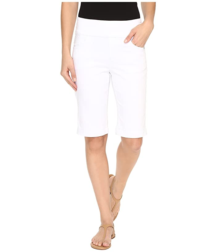 821b921d360 FDJ French Dressing Jeans D-Lux Denim Pull-On Bermuda in White at 6pm