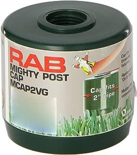 RAB Lighting MCAP2VG Mighty Post Cap for 2