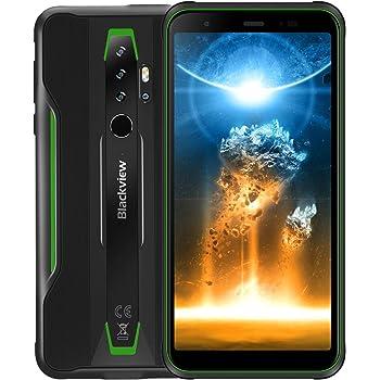 Rugged Cell Phones Unlocked Blackview BV6300Pro (2020) Android 10 Phone, 6GB+128GB IP68 Waterproof 16MP + HDR Quad Cameras, Wireless Charging 5.7'' Global GSM 4G Dual SIM Phone Fingerprint Unlocked