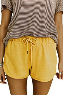96bc056a9 Minthunter Women's Casual Sports Home Comfort Solid Color Shorts Cool Casual  Short Hot Pants