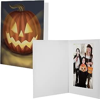 4x6 Halloween Photo Folders - 100 Pack