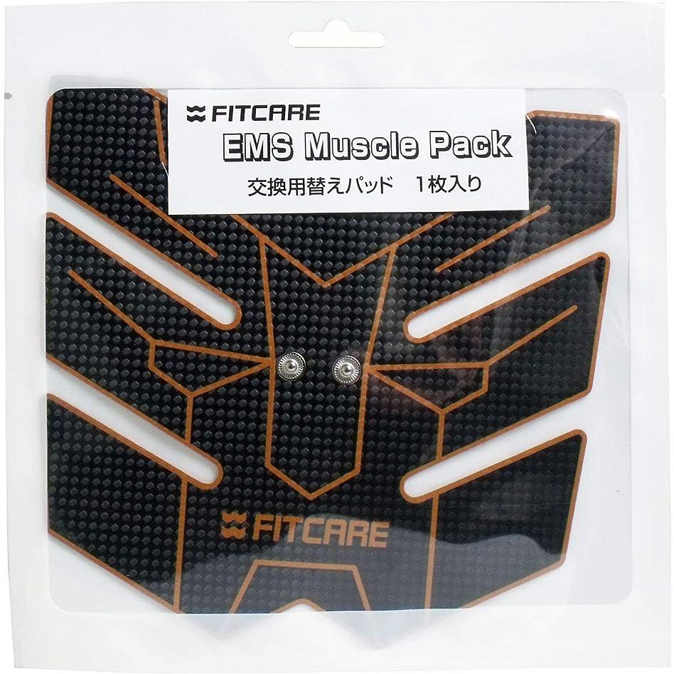 西部霜シャイニングEMS マッスルパック 交換用替えパッド 1枚入×2個セット