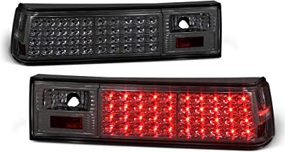 For Smoked 1987-1993 Ford Mustang LED Tail Lights Lamps Pair Left + Right