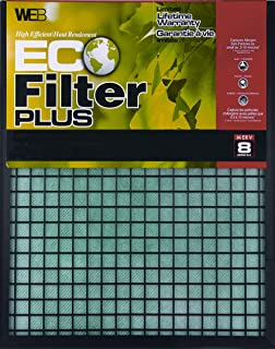 WEB Eco Filter Plus 20x20x1 Air and Furnace Filter