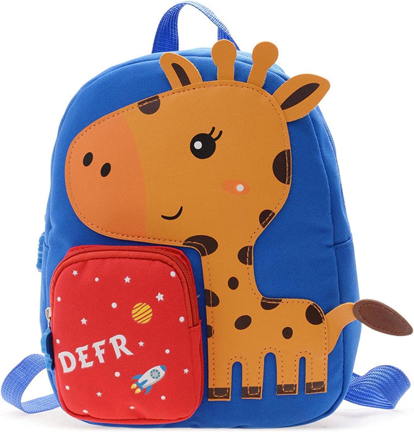 LOVOICE Mochila para niños y niñas, pequeña mochila para niños, guardería, mochila escolar, dibujos animados, prácticas bolsas para libros para niños, para preescolar