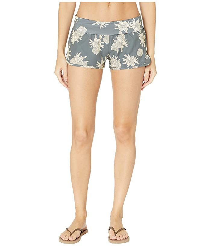 Roxy Endless Summer Print Boardshorts (Turbulence Rose and Pearls) Women